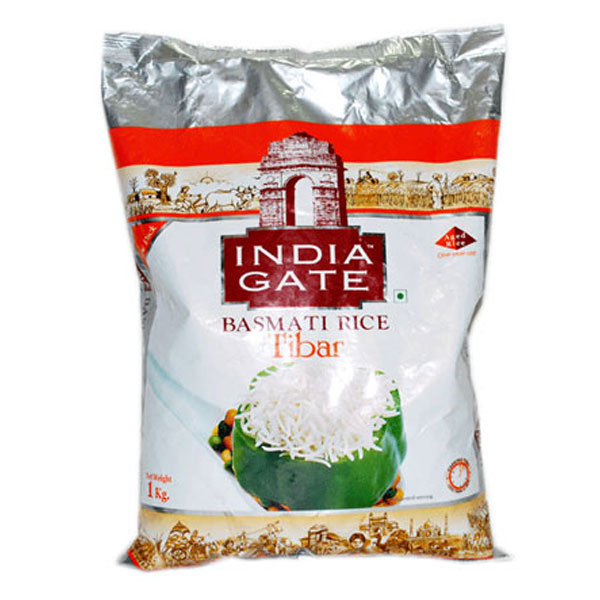 India Gate Basmati Rice Tibar 1Kg